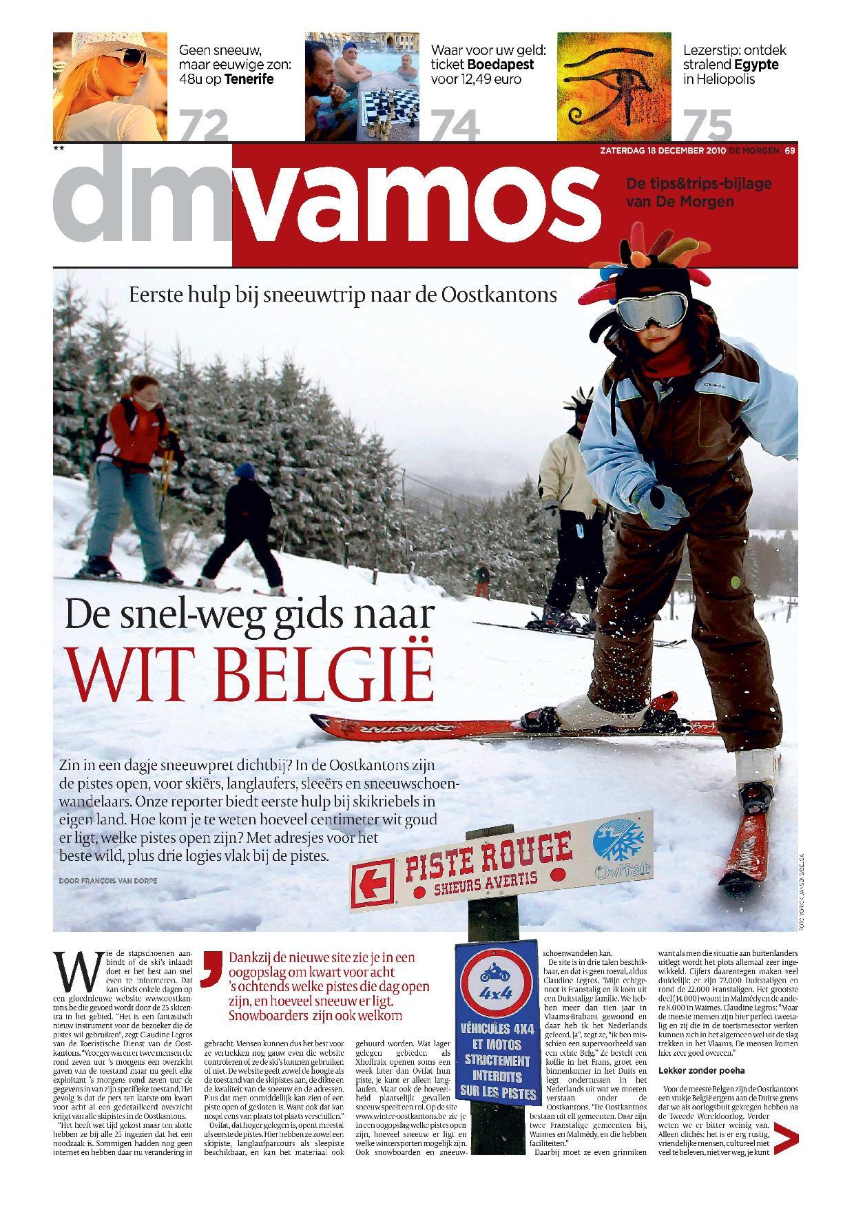 DeMorgen Vamos